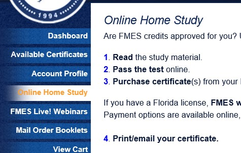 online home study
